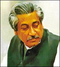 Bangabandhu Sheikh Mujibur Rahman. Collection from internet-Ranadipam_Basu