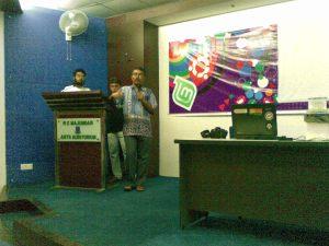 Munir Hasan on speech| Photo: Ranadipam Basu (23-07-2010)