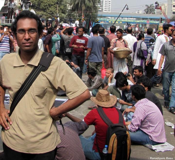 Ahmed Rajib Haider, Shahbagh, Dhaka, 08-02-2013